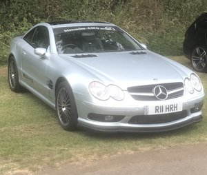 550 bhp Mercedes Supercharged V8 SL55 AMG
