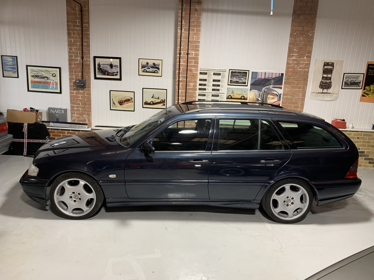 1999 Mercedes benz C43 W202 rare estate investment For Sale (picture 2 of 6)