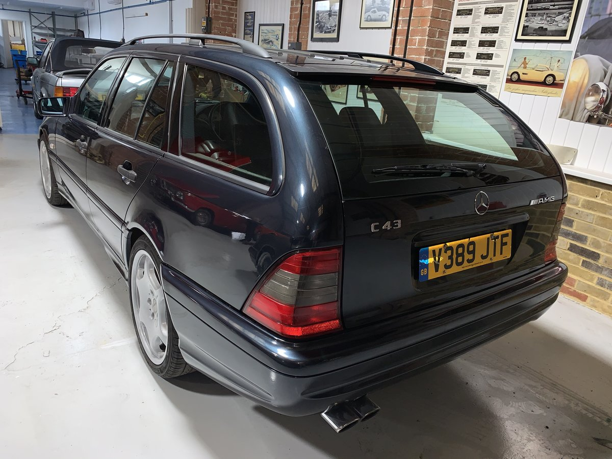 1999 Mercedes benz C43 W202 rare estate investment For Sale (picture 3 of 6)