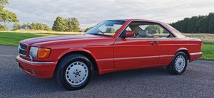 Picture of 1988/F Mercedes SEC 500 126 - Series Coupe