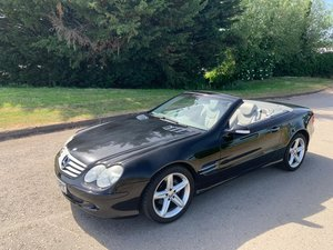 2003 Mercedes Benz R230 SL350 7G-tronic Convertible Roadster For Sale