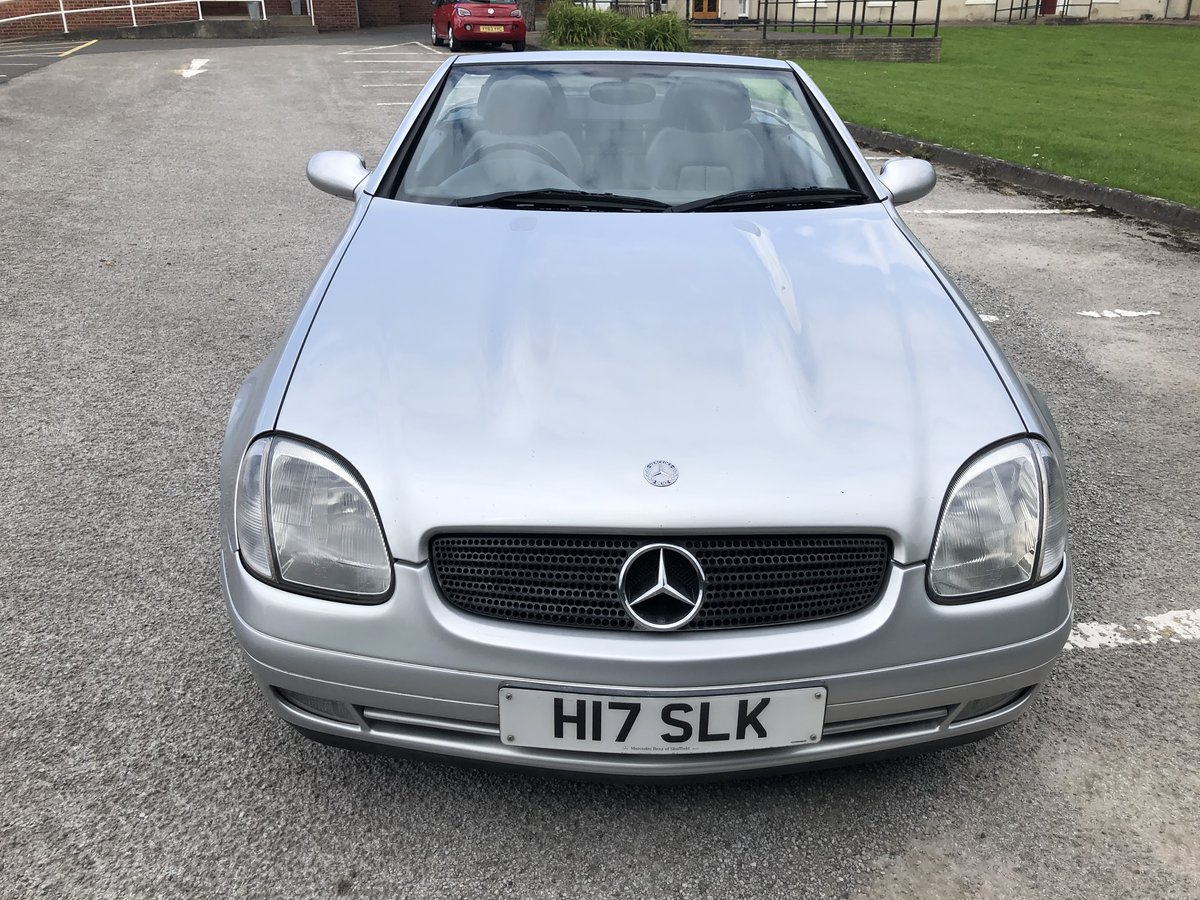 1998 Mercedes SLK230 kompressor auto For Sale (picture 4 of 5)