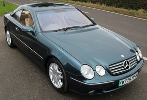 Picture of 2000 Mercedes Benz CL500 V8 Coupe  70,200 miles FSH SOLD