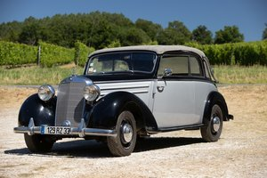 1950 Mercedes-Benz 170S cabriolet B No reserve For Sale by Auction
