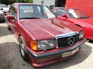 *REMAINS AVAILABLE - AUGUST AUCTION* 1990 Mercedes 190E Auto For Sale by Auction