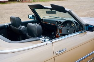 1982 MERCEDES 280 SL (only 13,700 miles) For Sale