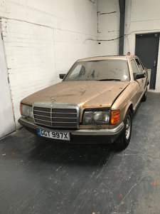 *REMAINS AVAILABLE - AUGUST AUCTION* 1982 Mercedes 500 SEL