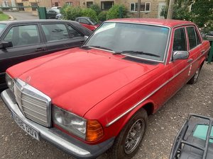 *REMAINS AVAILABLE - AUGUST AUCTION* 1984 Mercedes 230CE For Sale by Auction