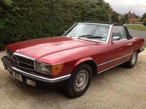 **OCTOBER ENTRY** 1976 Mercedes 350SL For Sale by Auction