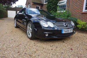 2005 Mercedes SL55 AMG R230 with 030 Performance Pack