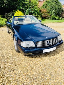 Picture of 1999 Mercedes SL320 - facelift with panoramic roof