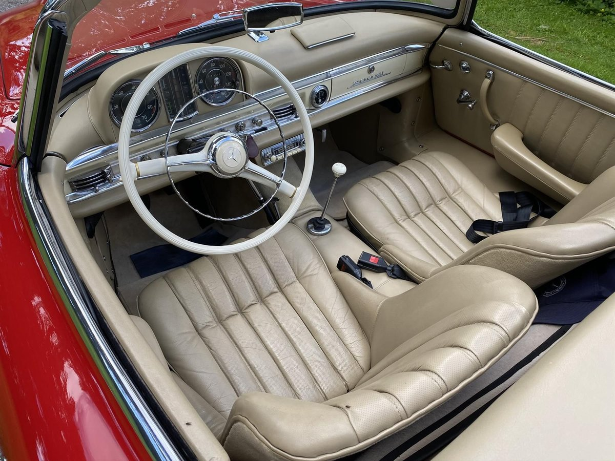 1960 Mercedes-Benz 300 SL Roadster For Sale (picture 4 of 6)