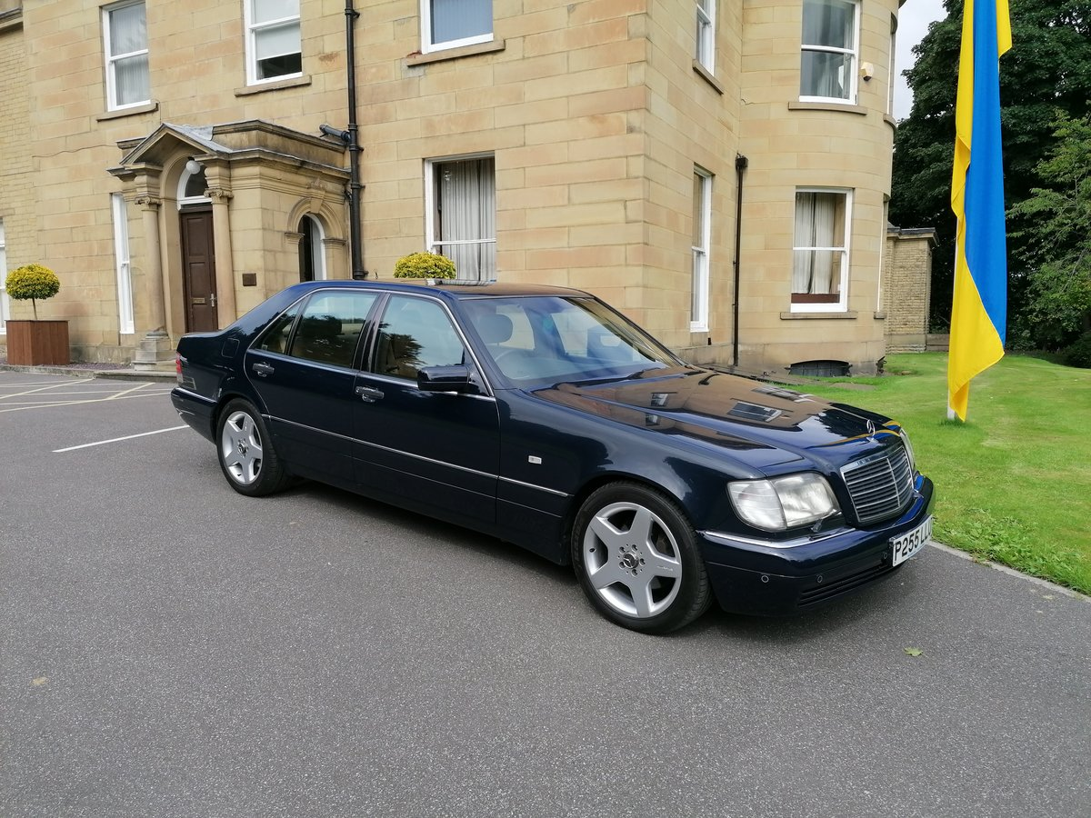 1996 Mercedes W140 S Class Limo For Sale (picture 1 of 6)