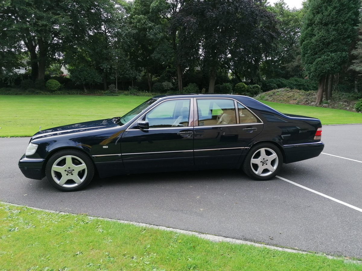 1996 Mercedes W140 S Class Limo For Sale (picture 2 of 6)
