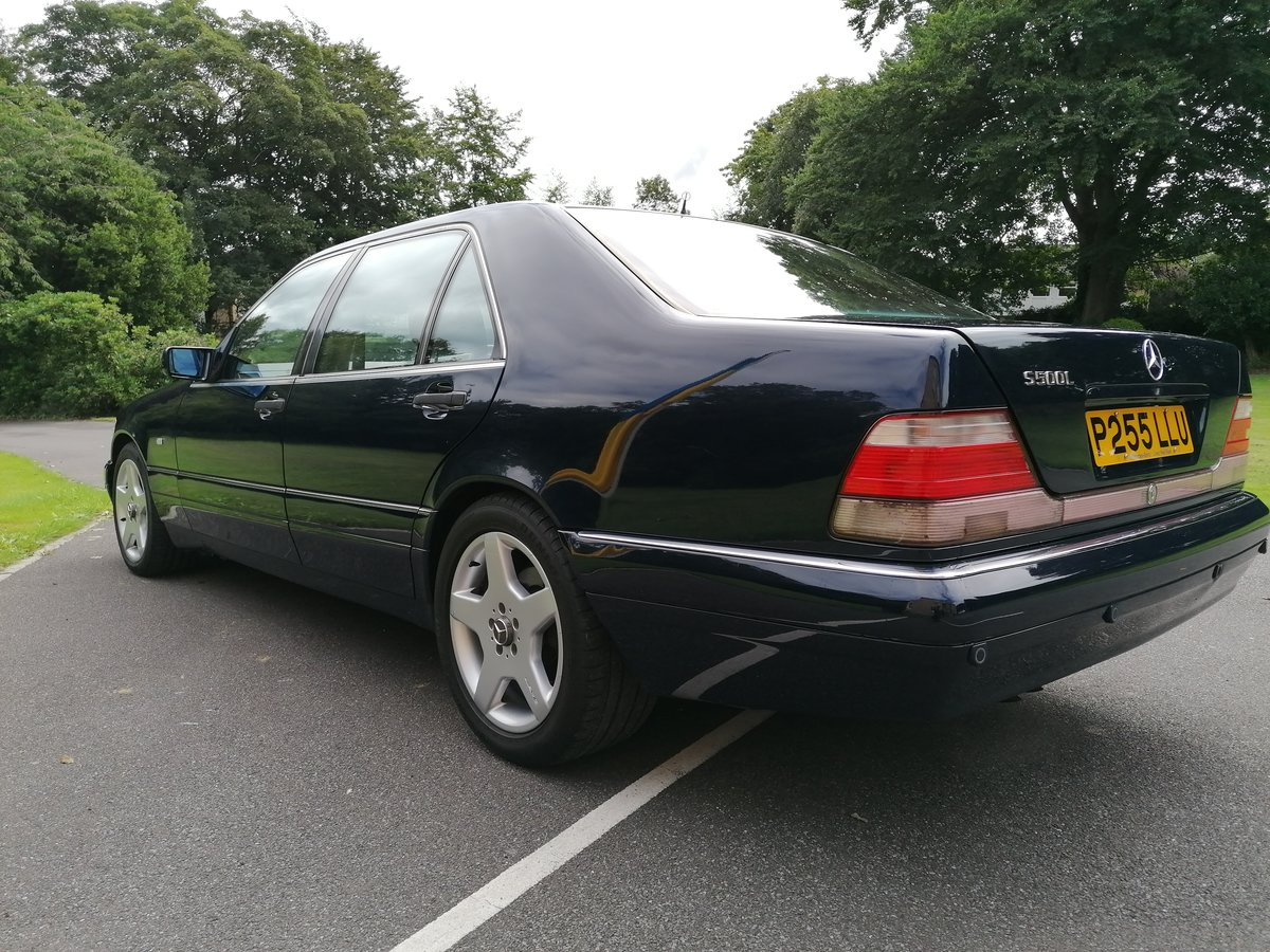 1996 Mercedes W140 S Class Limo For Sale (picture 4 of 6)