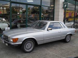 1981 Mercedes 280 SLC RHD For Sale