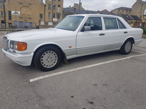 Picture of 1991 Mercedes 300sel w126 white