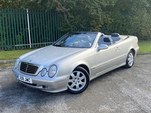 Picture of 2001 MERCEDES-BENZ CLK 320 AVANTGARDE CONVERTIBLE - LOW MILE SOLD