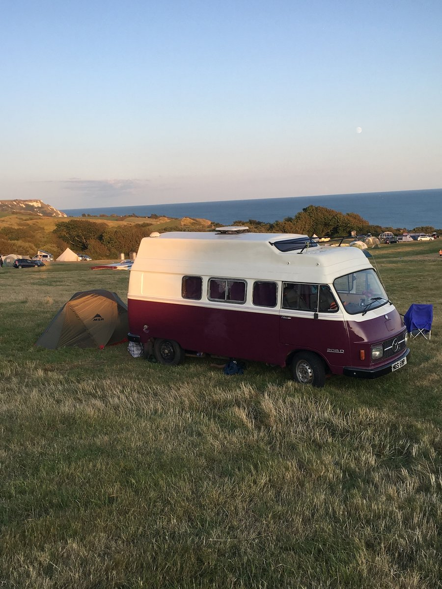 1976 Rare Mercedes Campervan - ready for holidays now! For Sale (picture 2 of 5)