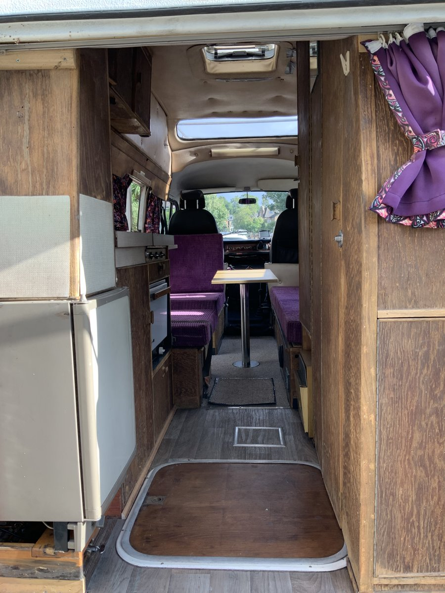 1976 Rare Mercedes Campervan - ready for holidays now! For Sale (picture 4 of 5)
