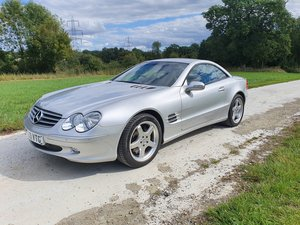 2003 Mercedes SL500 convertible 28K full history