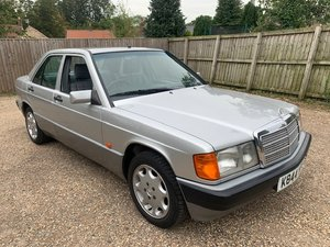 **OCTOBER ENTRY** 1992 Mercedes 190E