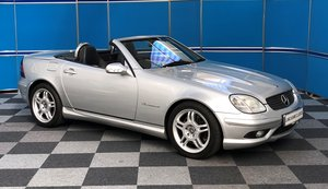 2002 Mercedes SLK32 AMG For Sale
