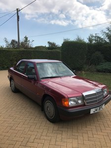 1992 Outstanding Original Low Mileage 190e For Sale