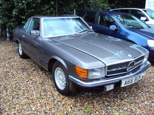 1984 Mercedes-Benz 280SL Convertible with Hardtop  For Sale by Auction