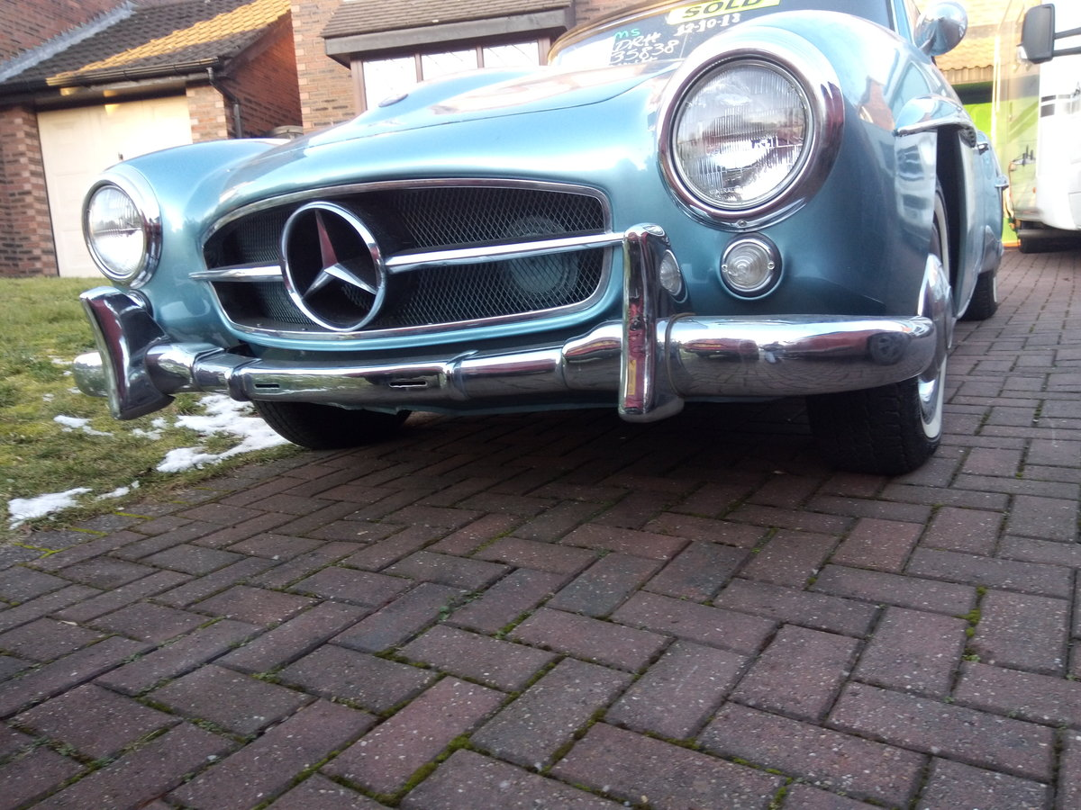 1956 Mercedes benz 190sl roadster For Sale (picture 1 of 6)