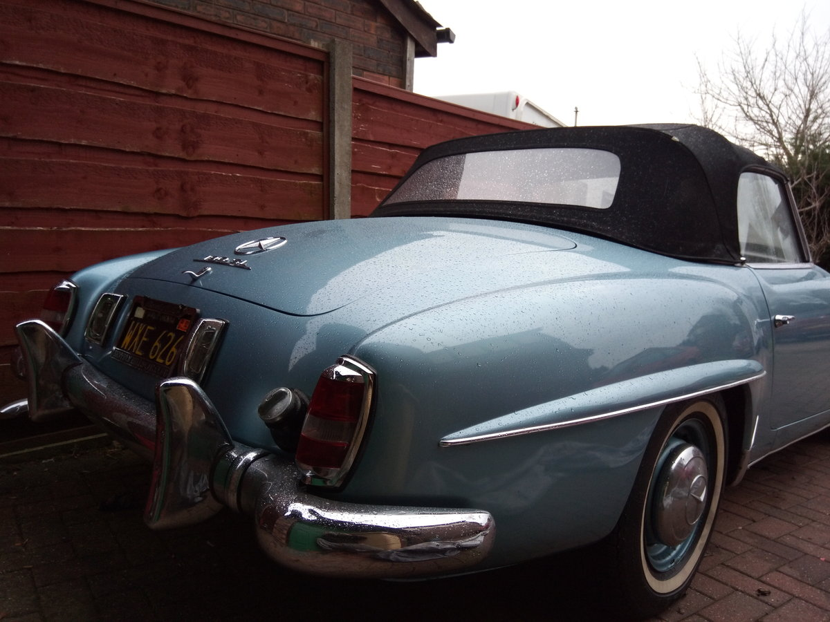1956 Mercedes benz 190sl roadster For Sale (picture 4 of 6)