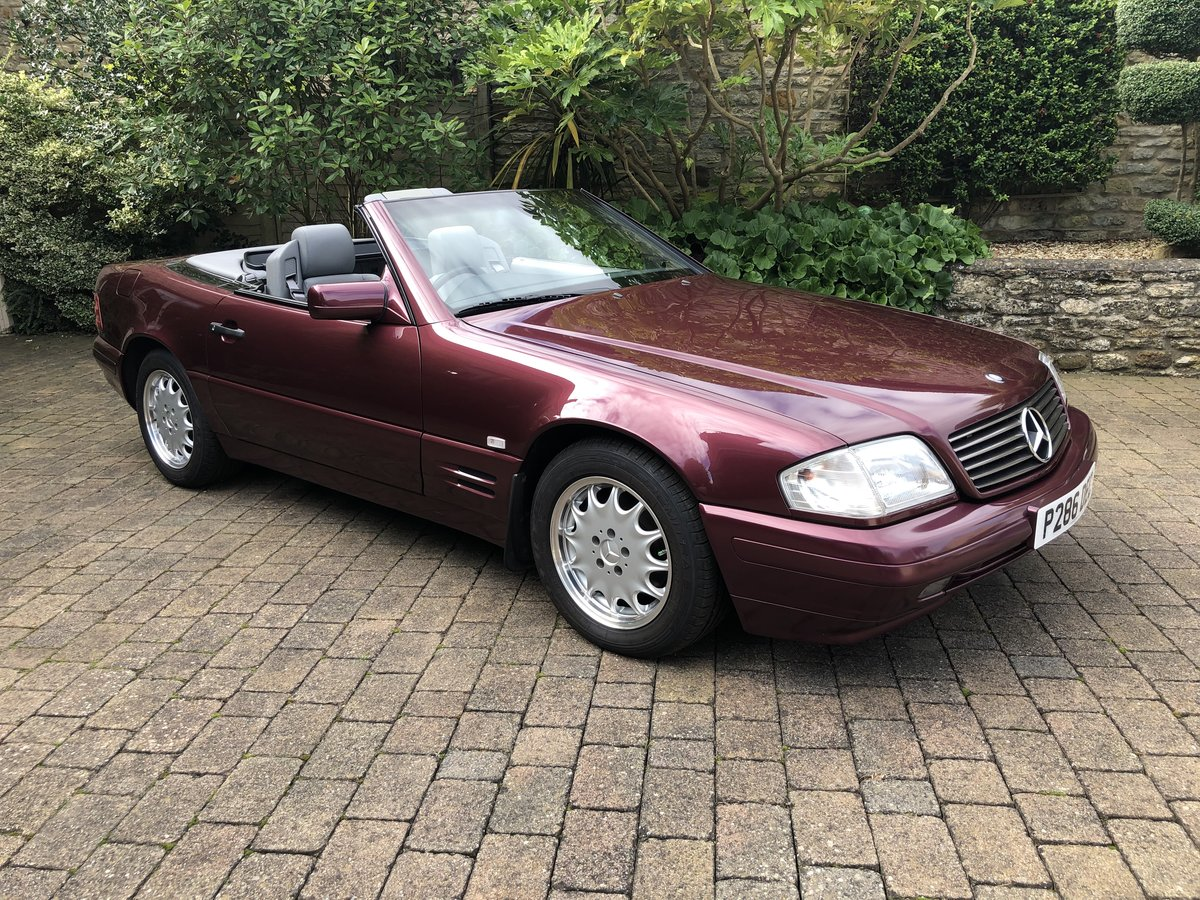 1997 Mercedes 280SL Auto  17,000 miles ony For Sale (picture 1 of 6)