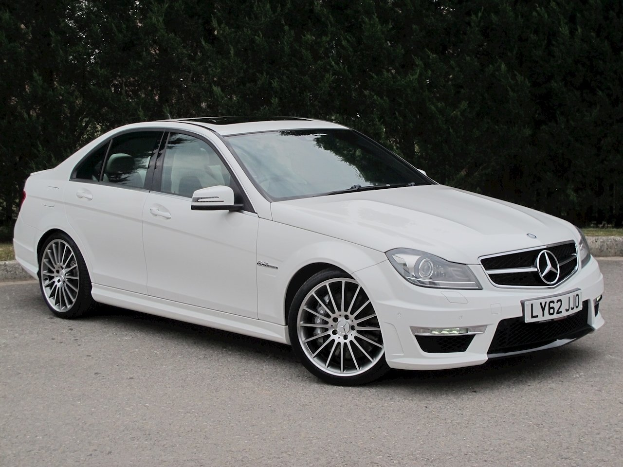 2012 Mercedes C63 AMG Saloon For Sale (picture 1 of 6)