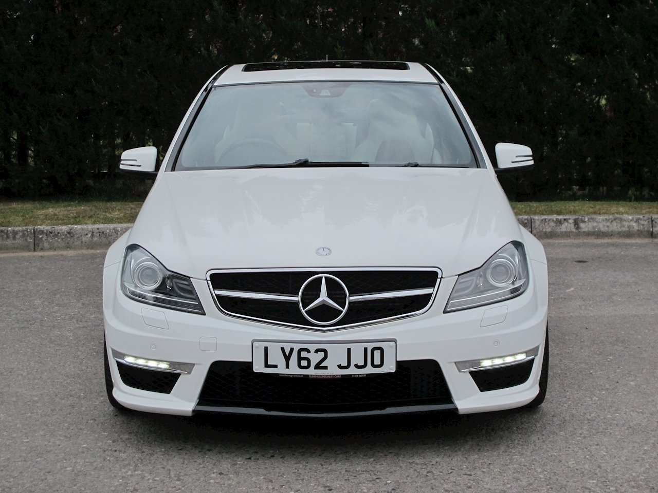 2012 Mercedes C63 AMG Saloon For Sale (picture 2 of 6)