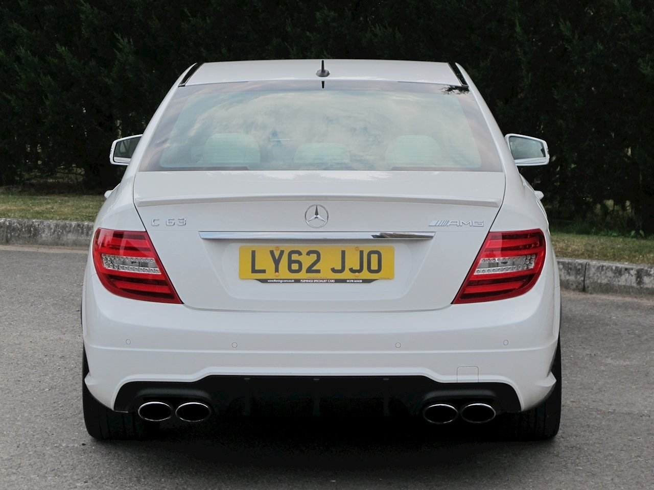 2012 Mercedes C63 AMG Saloon For Sale (picture 4 of 6)