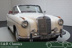 Mercedes-Benz 220 SE Ponton Cabriolet 1960 For Sale