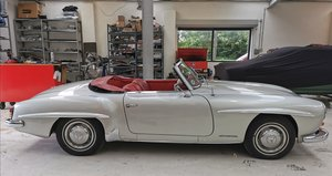 Picture of 1954 Mercedes-Benz 190SL - LHD