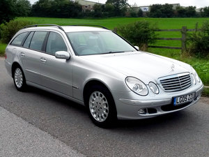 2005 MERCEDES E320 CDI ELEGANCE ESTATE // ONLY 99000 MILES