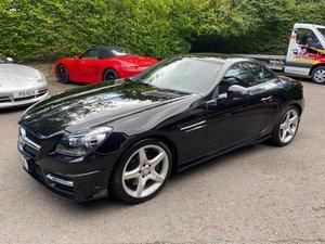 £11,995 : 2011 MERCEDES SLK350 AMG SPORT BLUE F