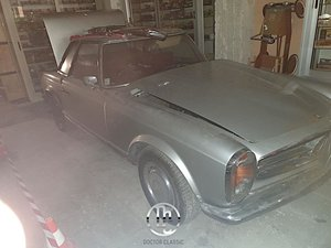 MB 230SL RIGHT HAND DRIVE PROJECT COMPLETE MATCHING