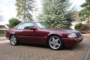 Appreciating Classic SL500 (R129)