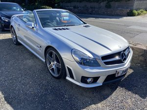 Picture of mercedes sl 63 omg 2008