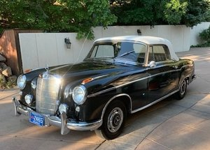 #23476 1957 Mercedes-Benz 220S 'Ponton' Cabriolet