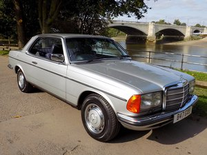 Picture of 1984 Mercedes 230CE Coupe - Exceptional Condition  For Sale