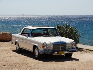 1970  Mercedes-Benz 280 3.5 Coupe, awarded recent restoration