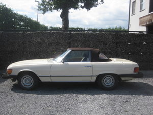Picture of 1985 MERCEDES SL 380 CABRIO MODEL 107 IN NICE COLOR IVORY WHITE