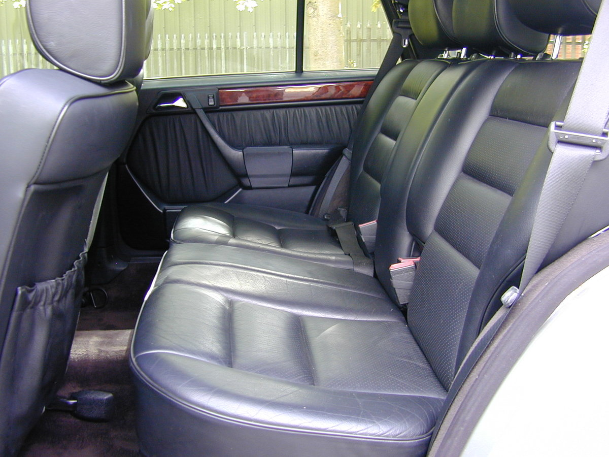 1995 MERCEDES BENZ W124 E320 ESTATE 7 SEAT - LEATHER - EX JAPAN! For Sale (picture 5 of 6)