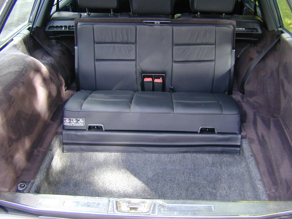 1995 MERCEDES BENZ W124 E320 ESTATE 7 SEAT - LEATHER - EX JAPAN! For Sale (picture 6 of 6)