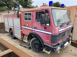 Mercedes 1222 Automatic Fire Engine