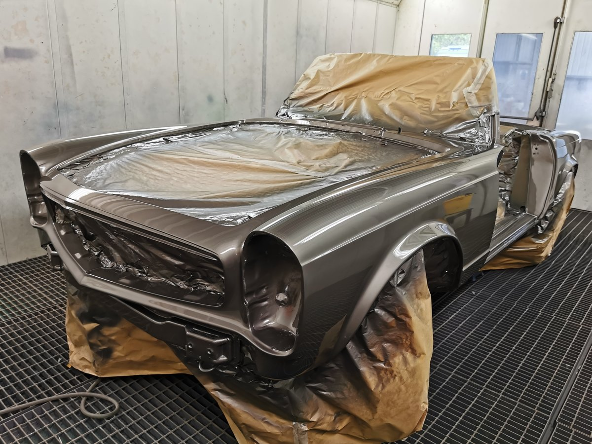 1971 Fully restored 280SL Right Hand Drive W113 For Sale (picture 1 of 5)